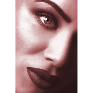 TM2882 model lips woman light red