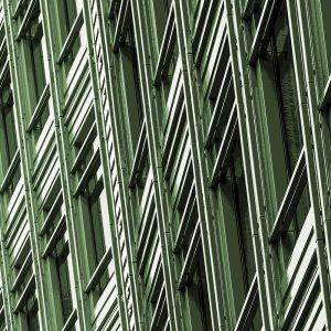 TM2908 building windows light green