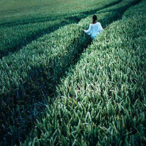 TM2921 girl crops path green