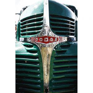 TM2925 dodge retro truck20grill green