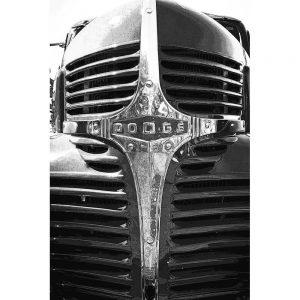 TM2926 dodge retro truck grill mono