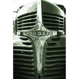 TM2928 dodge retro truck grill light green