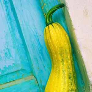 TM2956 yellow vegetable door detail