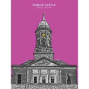 SG2580 dublin castle ireland city funky
