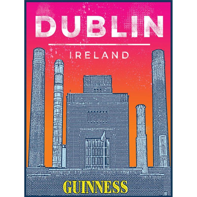 SG2582 guinness factory dublin city ireland funky
