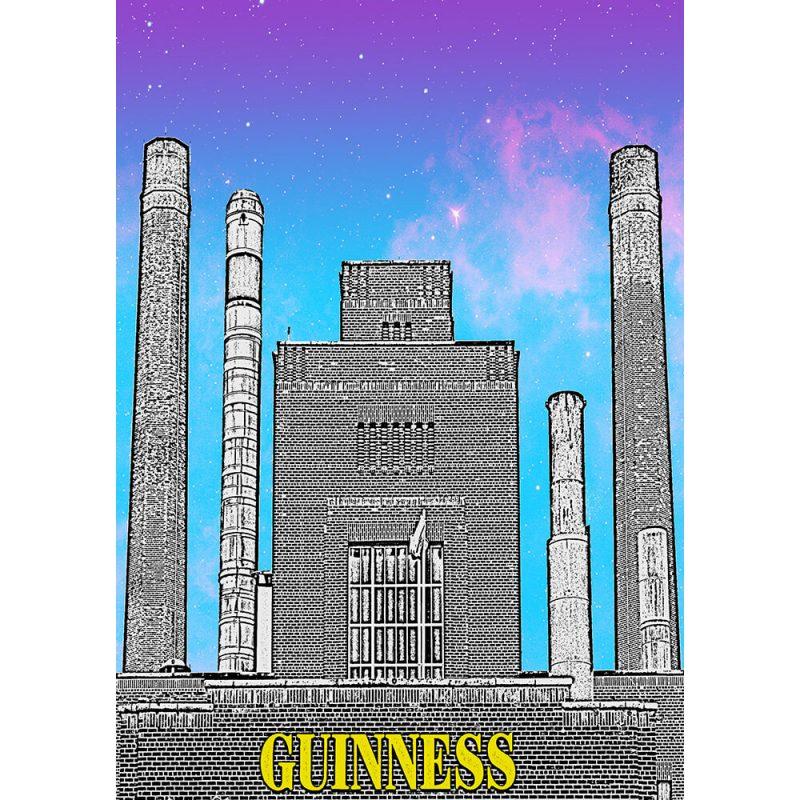 SG2583 guinness factory dublin city ireland funky