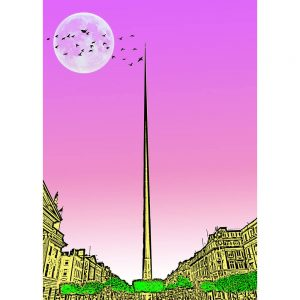 SG2600 spire dublin ireland bright funky