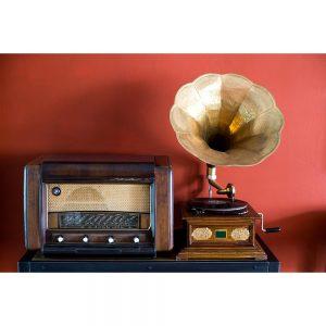 SG2791 gramaphone record player radio retro