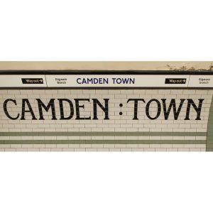 SG2907 camden town london uk tube station
