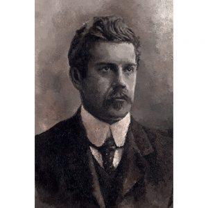 SG761 man male irish ireland poet portrait portrait