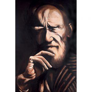 SG762 george bernard shaw irish ireland playwright portrait