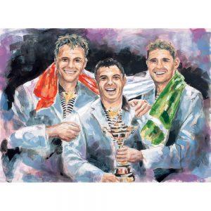 SG763 men figures trophy portrait