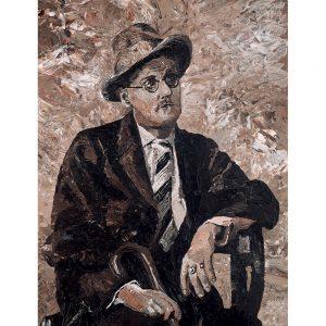 SG764 james joyce writer poet irish ireland novelist portrait
