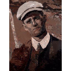 SG767 man figure irish ireland poet portrait