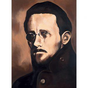 SG769 james joyce writer poet irish ireland novelist portrait