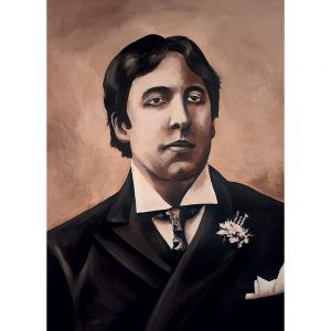 SG784 oscar wilde poet poem irish ireland portrait