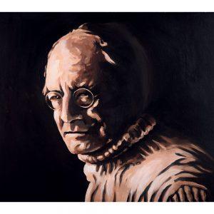 SG790 man figure portrait poet irish ireland