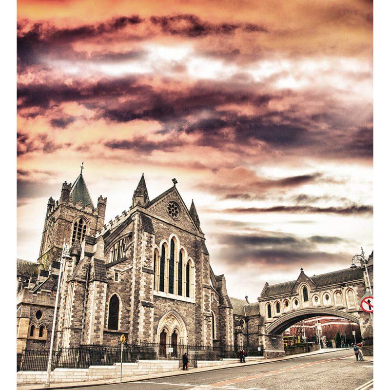 SG2966 cathedral holy trinity christ church dublin ireland