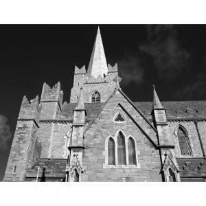 SG2969 christ church dublin ireland ancient gothic cathedral