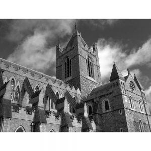 SG2970 christ church dublin ireland ancient gothic cathedral