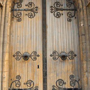 SG3174 dublin city arched doors