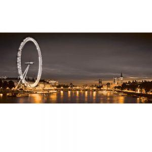 SG3827 london uk cityscape black white orange